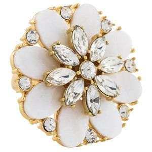 NEW Kate Spade Bungalow Bouquet Cocktail Ring